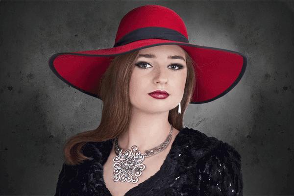 glamourous-woman