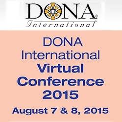 Speaker, DONA International Conference @ Online