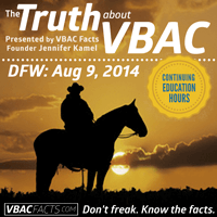 "Dallas-Ft Worth ""Truth About VBAC"" Workshop @ Hurst Conference Center 