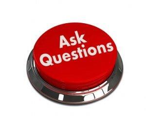 Ask Questions 3d button