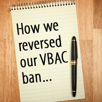 how we reversed our vbac ban image
